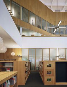 Image 23 of 31 from gallery of Turku City Library / JKMM Architects. Library Inspiration, Design Inspiration, Library Architecture, Old Libraries, City Library, Library Services, New City, Dream Vacations, Architects