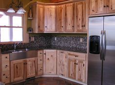 Rustic Kitchen- if we ever replace them