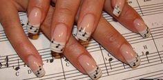 music nail art <3