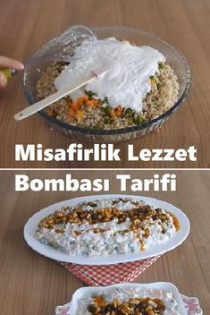 A very different and incredibly delicious recipe, guest We are with you so that every Bombe Recipe, Slow Cooker, Oatmeal, Appetizers, Food And Drink, Rice, Cooking Recipes, Salad, Breakfast