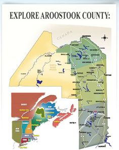 Aroostook County: A big place with lots to explore!!!  What's your favorite Aroostook adventure?