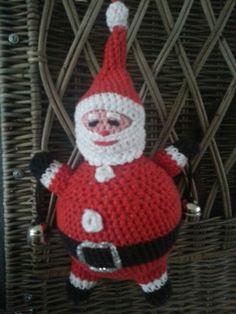 Kerstman hanger