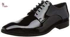 ECCO  Figari, Bottes homme - Noir - Black (Black Patent), 45 - Chaussures ecco (*Partner-Link)