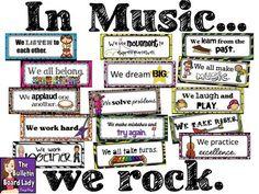 In Music...We Rock Bulletin Board                              …