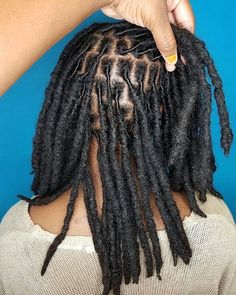 How I suppose the perfect loc routine would look. Dreadlock Styles, Dreads Styles, Dreadlock Hairstyles, Curly Hair Styles, Natural Hair Styles, Braided Hairstyles, Wedding Hairstyles, Hair Locks, My Hair