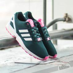 adidas zx flux w encre et rose