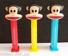 New Release~European Pez Dispenser~Paul Frank~Julius~Set of 3~Loose~Near Mint