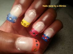 OMD 31 day nail art challenge Day 30 Favorite comic book or character