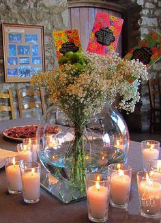1000 images about centros de mesa on pinterest mesas - Arreglos con globos para boda ...