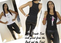Alice Brands Tees and Tanks look great which ever way. Made from soft materials with unique designs and all ideal for gym workouts, holidays or just chilling. http://etsy.com/uk/shop/AliceBrands … …  See more: http://alicebrands.co.uk/Pages/3/All+Products … …