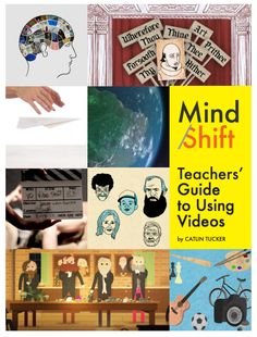 The Teacher's Guide To Using Video -- stellar resource PDF by Catlin Tucker & Mindshift