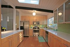 eichler sky lights | Big, Bright, Open Kitchen with Modern features and Big Pictures ...