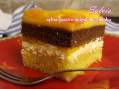 Sylvia Gasztro Angyal: Őszibarackos túrós sütemény