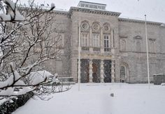 Today is day, so we looked through our archives & found this snowy shot from the Big Freeze of National Gallery of Ireland Big Freeze, Snowy Weather, Ireland, Museums, Gallery, Building, Outdoor, Image, Twitter