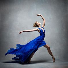 And, something magical...Miriam Miller, New York City Ballet, photo by Ken Browar and Deborah Ory
