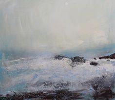 """Saatchi Art Artist Chris Hankey; Painting, """"Cot Valley Storm No.6 SOLD"""" #art"""
