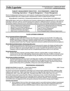 ceo resume pd pinterest resume examples executive resume and