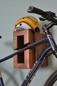 BIKE RACK: Modern Wood
