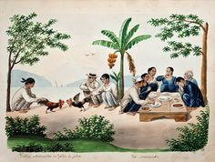 Manila, Philippine Art, Filipino Culture, Philippines Culture, Picture Composition, Retro Photography, Filipiniana, Old Paintings, Historical Pictures