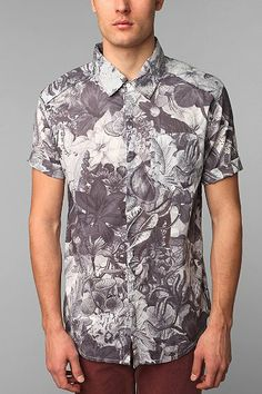 Insight Trippy Floral Shirt - Urban Outfitters