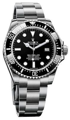 116600 | ROLEX SEA DWELLER 4000 | BELOW RETAIL & AUTHENTIC MENS LUXURY WATCH
