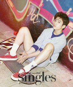 JR - Singles Magazine July Issue '15