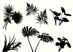 Vectores libres de derechos: TropicalPlants