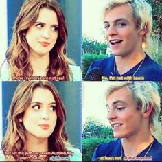 Are they giving us a hint or what? ;) Raura might happen? :D