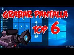 Top 6 programas para grabar la pantalla del ordenador - YouTube