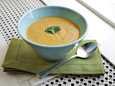 Sweet Potato Coconut and Ginger Soup