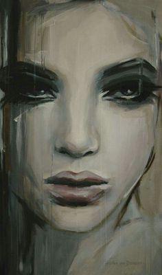 "I love this painting! Acrylic 2013 Painting ""See beneath your beautiful - SOLD on Saatchi Online"" Gif Kunst, Illusion Kunst, Art Amour, Art Et Illustration, Illustrations, Saatchi Online, Online Painting, Pics Art, Love Art"