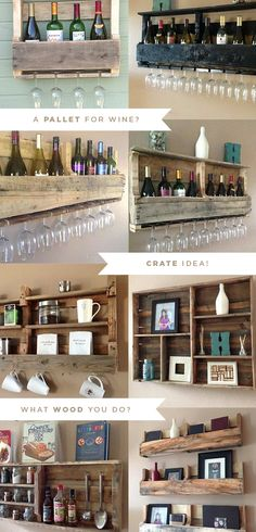 Why not put some craft beer bottles on top and small mugs on the bottom? Possibilities....
