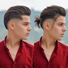 Trending Hairstyles For Men, Hairstyles For Round Faces, Vintage Hairstyles, Cool Hairstyles, Nba Haircuts, Cool Mens Haircuts, Summer Haircuts, Diy Haircut, Fade Haircut