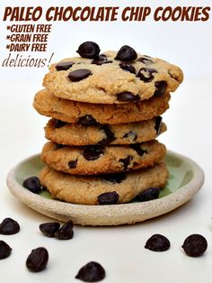 Paleo Chocolate Chip Cookie Recipe