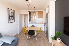 Small Apartment Interior, Small Apartments, Table, Furniture, Home Decor, Decoration Home, Small Flats, Room Decor, Tiny Apartments