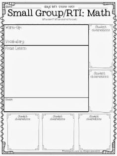 Teaching with a Cup of Tea: Small Group & Interventions & RTI, Oh MY!
