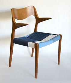 Niels Möller Chair reloaded by Tünde Újszászi