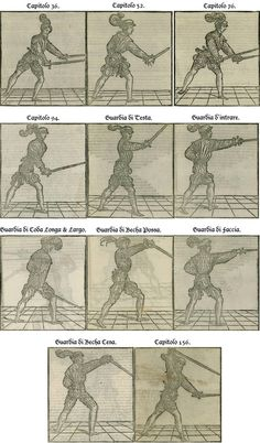 Restoration of Marozzo's Side Sword Illustrations by Adelheid Zimmerman — Kickstarter