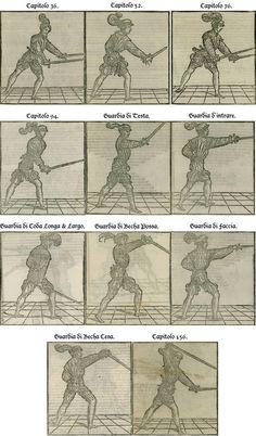Restoration of Marozzo's Side Sword Illustrations by Adelheid Zimmerman — Kickstarter