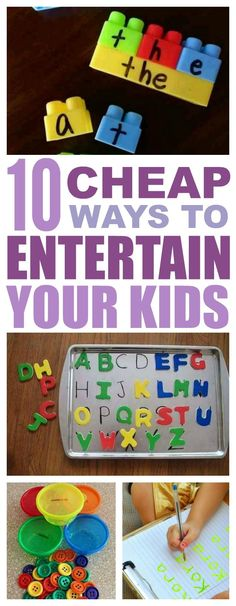 10 Cheap And Easy Ways To Entertain Your Kiddos - That Vintage Life