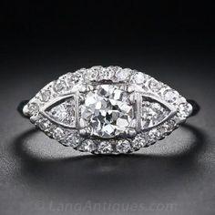 .55 Carat Mid-Century Diamond Engagement Ring