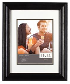 Gallery Solutions Satin Portrait Picture Frame