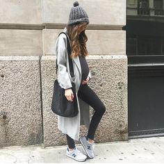 Arielle Noa Charnas @somethingnavy Grey kinda day. ☁...Instagram photo | Websta (Webstagram)