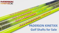 Paderson Kinetixx Loaded Shaft product technologies are most advanced multi-material, multi-process composite. Buy Drive Shafts, Fairway Shafts, Hybrid/Utility Shafts and Iron Shafts. Golf Shafts, Drive Shaft, Iron, Steel