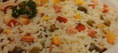 Con questo caldo meglio mantenersi leggeri... Cosa meglio di un insalata di #riso? #expo2015 #onthetable