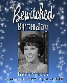 HAPPY BIRTHDAY, IRENE VERNON! Ms. Vernon appeared as Louise Tate in Seasons One and Two for a total of just 13 episodes. It is said she left to pursue a career in real estate however it is also said she was fired for her relationship with show producer Danny Arnold, who had just quit the show.