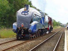 From Heritage Railway Magazine Old Trains, Vintage Trains, Heritage Railway, Flying Scotsman, Steam Engine, Steam Locomotive, Train Tracks, Engineering, British