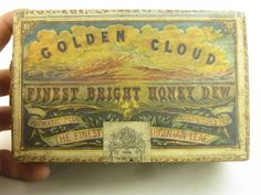 Cope Brother's Golden Cloud Tobacco box
