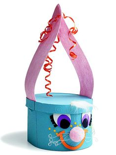 Make a Rascally Rabbit Gift Box that's sure to be just as great as the present inside! This simple project bring smiles and helps spread Easter cheer! kidzlist.com
