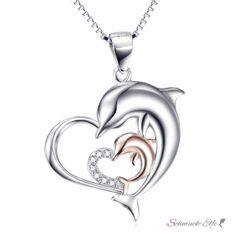 Gravur 925 Silber Liebe Geschenk Attractive And Durable Spirited Materia Damen Kette Mit Anhänger Herz Inkl